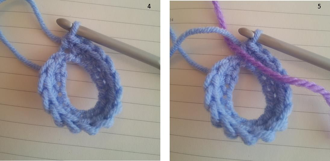 How to crochet in the round spiral vs joining look at