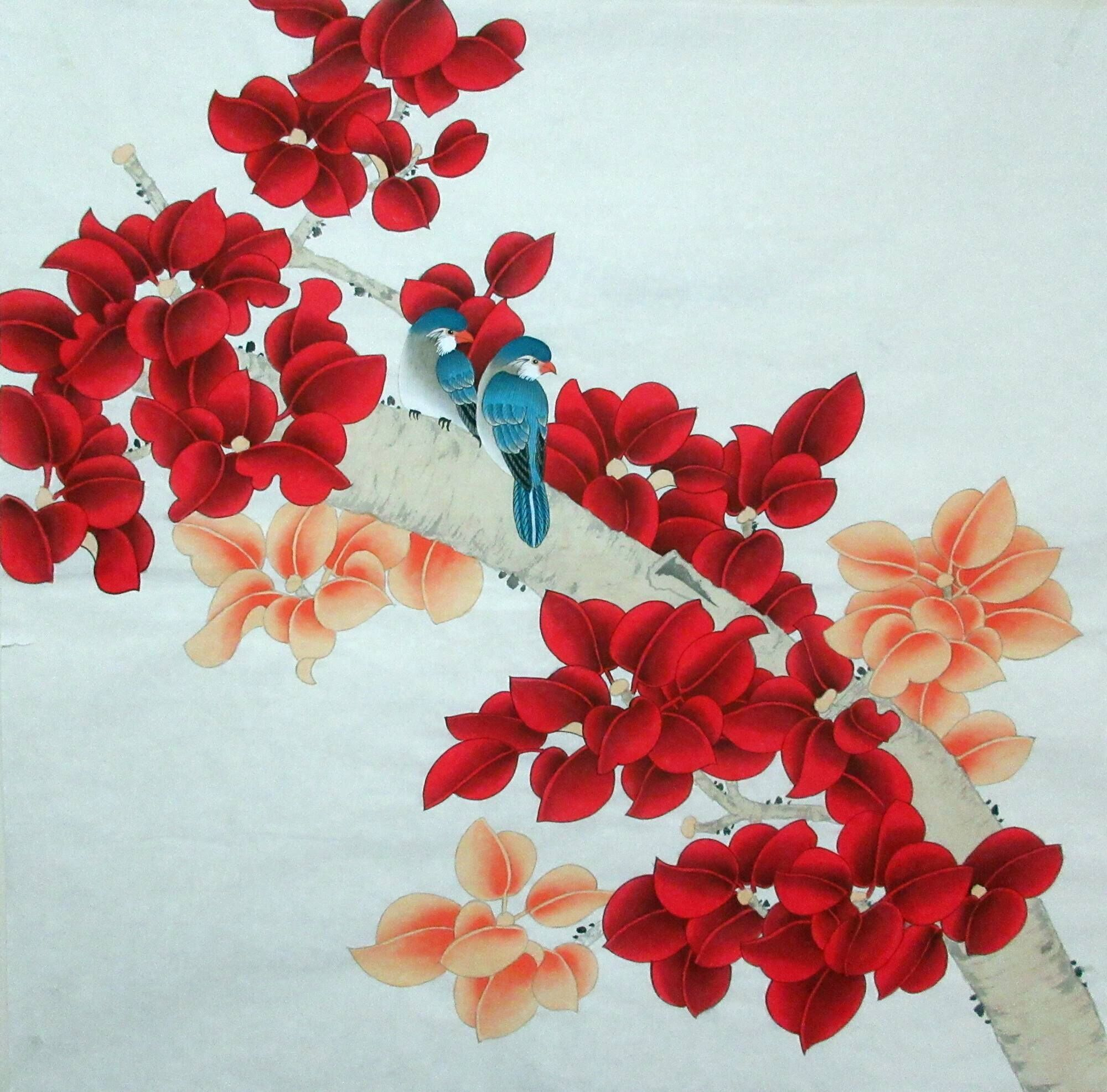 chinese wall art painting