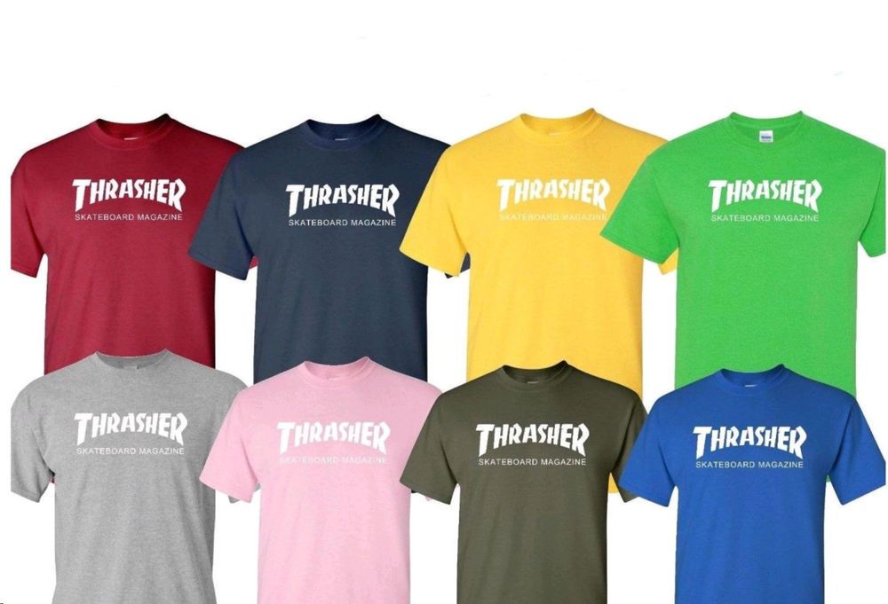THRASHER diamond skaters Men s women Clothing Shirts T-Shirts H018  fashion   clothing  shoes  accessories  mensclothing  shirts (ebay link) 86104d9a1