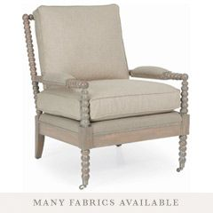 love this chair, thinking of bolder fabric?