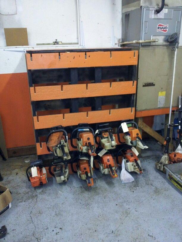 Hedge Trimmer Storage Idea By Valery Rigot Shedstorageideas