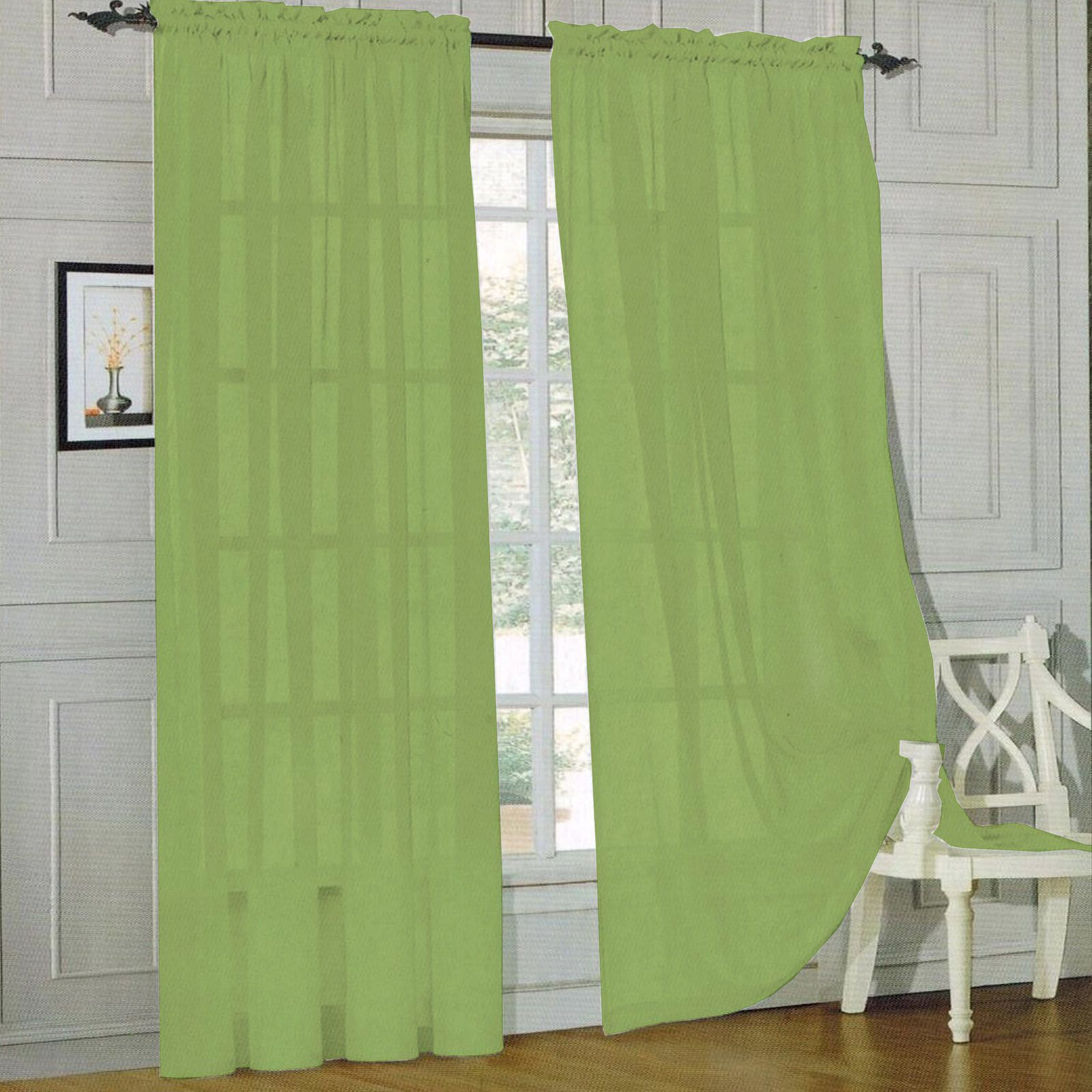Sheer Voile Curtain Panels Panel Curtains Curtains Drapes Curtains