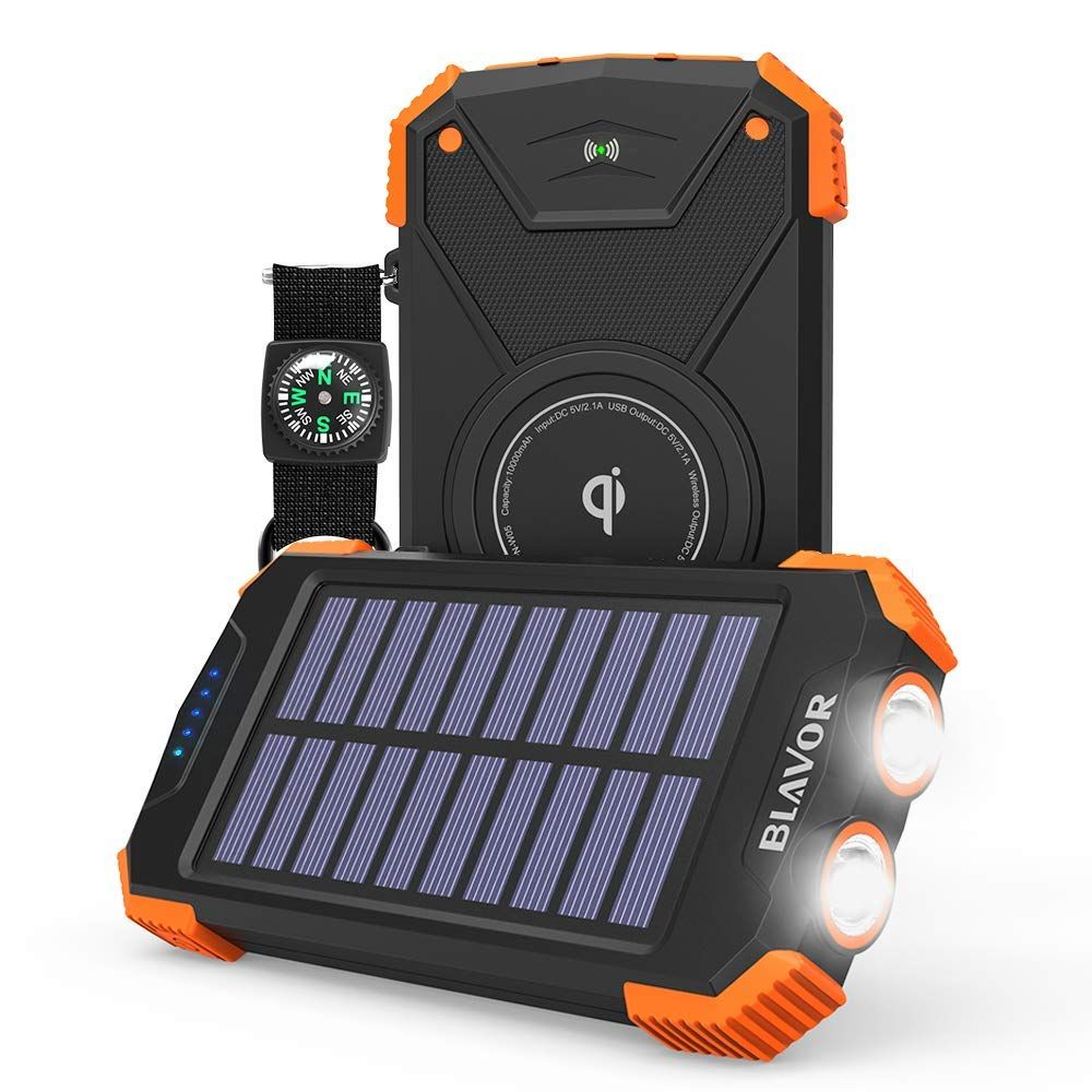 Port Sustainable Portable Battery Solar Panel Power Bank Solar Power Charger