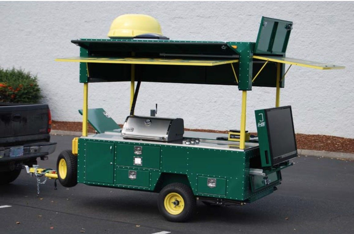 Custom Tailgating Trailer Tailgating trailers