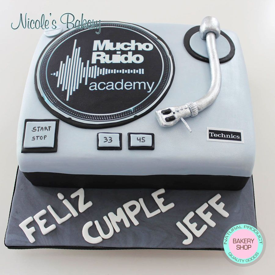 Disk Payer Cake Cakes Pinterest Happy Birthday Jeff Vanilla
