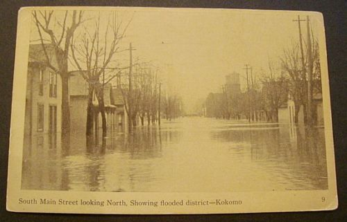 1913 Flood in Kokomo Indiana