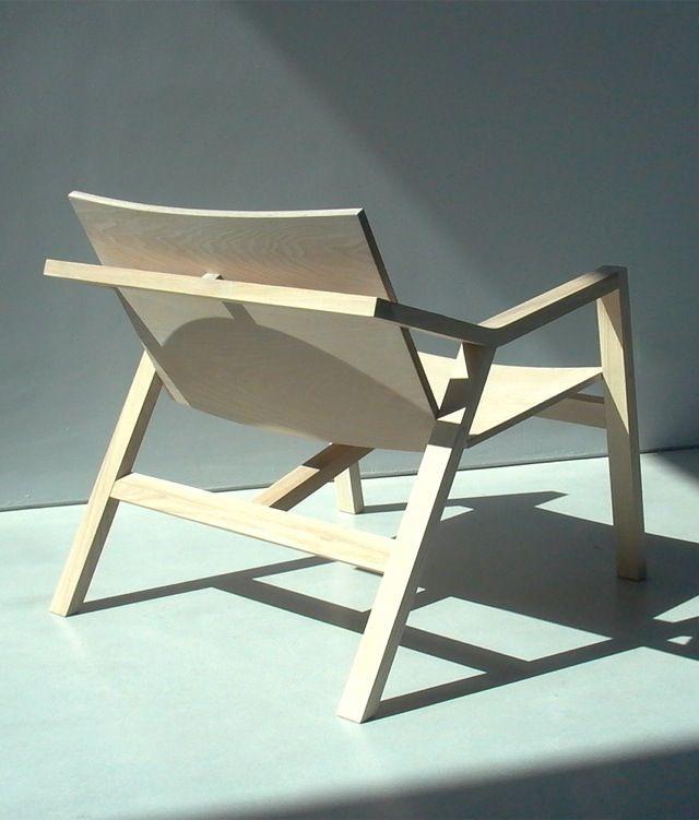 Z U Chair by Sven Goemaere & Miel Cardinael