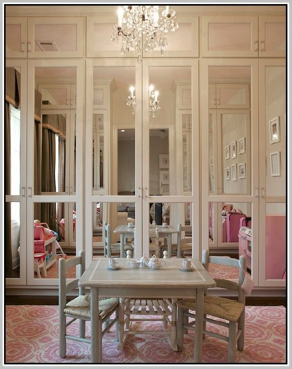Mirrored Bifold Closet Doors Home Ideas In 2018 Pinterest