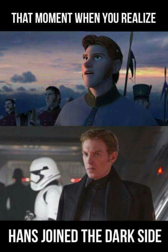Pin By Druszad On Disney Crossovers Funny Star Wars Memes Star Wars Humor Star Wars Memes