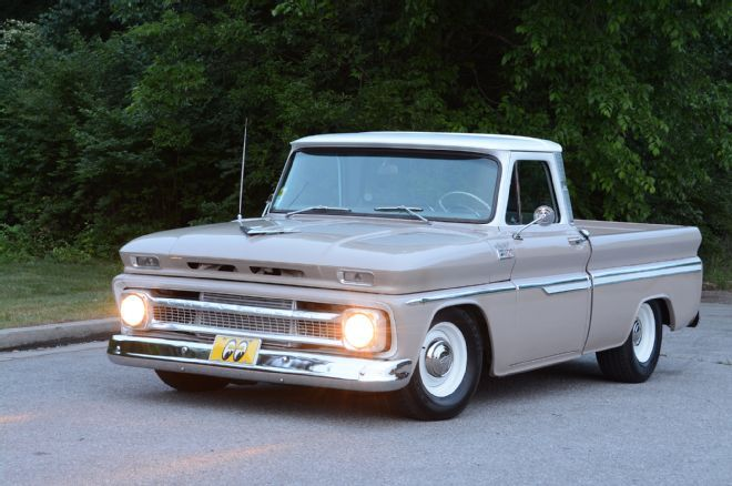 A Cool Sleeper From 1965 Chevrolet C10 Truck Using Ls And Turbocharger But I Love The Dropped Stock Look K