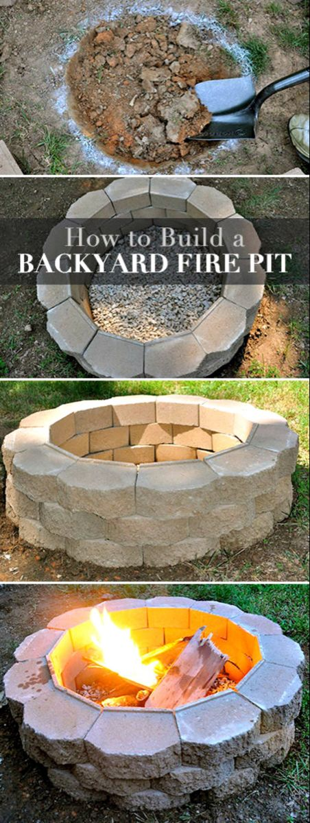 best diy outdoor fire pit ideas outside fire pits on backyard fire pit landscaping id=31861