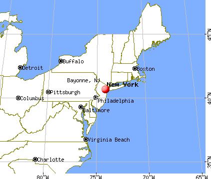 Bayonne New Jersey USA USA New Jersey MidAtlantic State