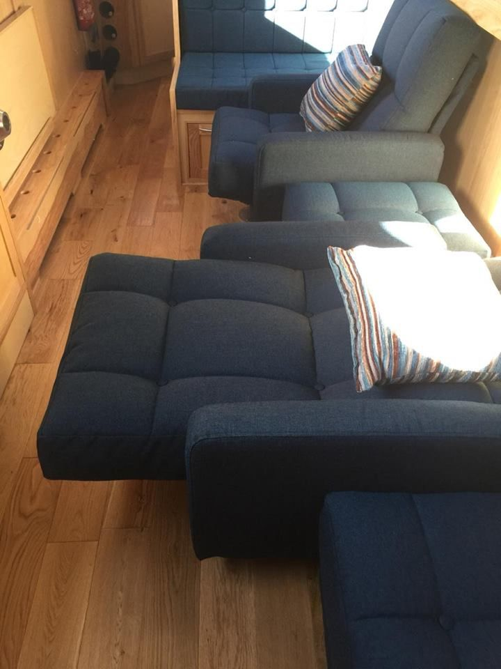 Richmond Chair + Foot Stool Simple To Convert Into A