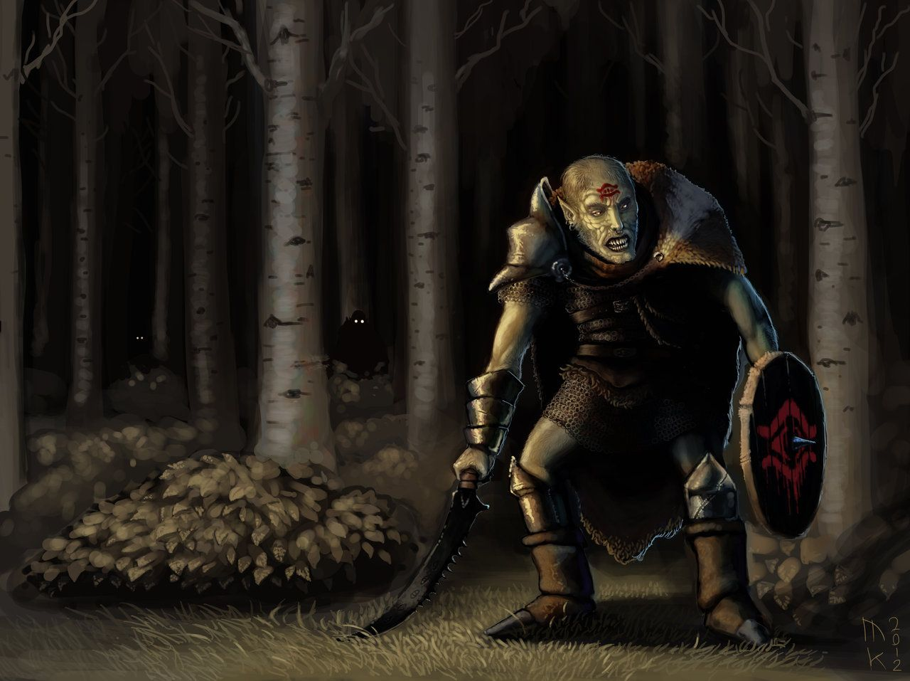 Orc of Mordor by on DeviantArt