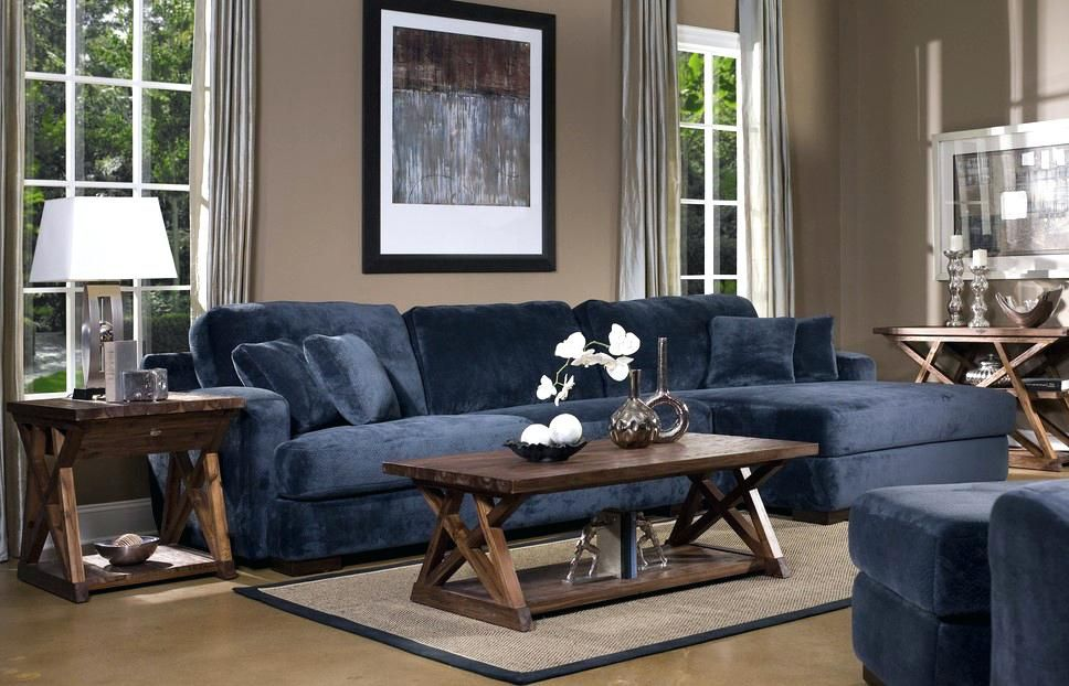 Pin By Sofacouchs On Apartment Sofa Blue Couch Living Room Navy Blue Living Room Teal Living Rooms
