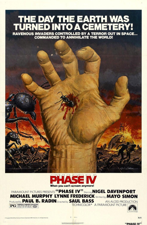 PHASE IV (1974) #movie #movie #ants #horror #poster