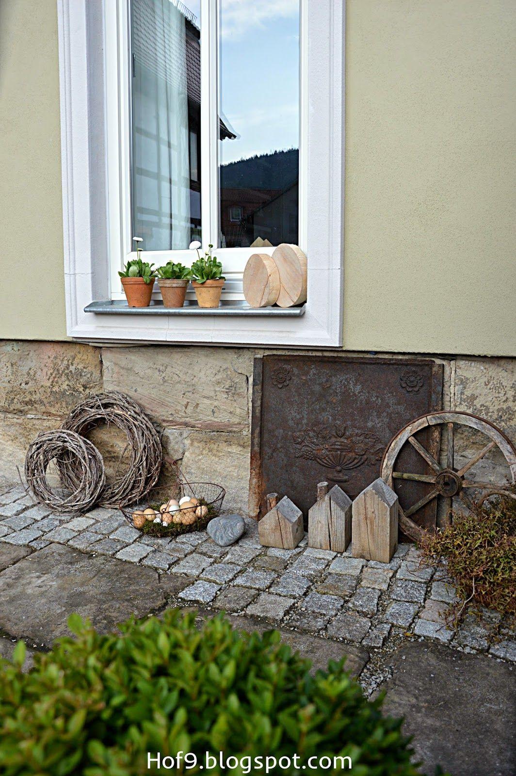 Haus außentor design ostern steht vor der tür und ein eier diy  garden  pinterest