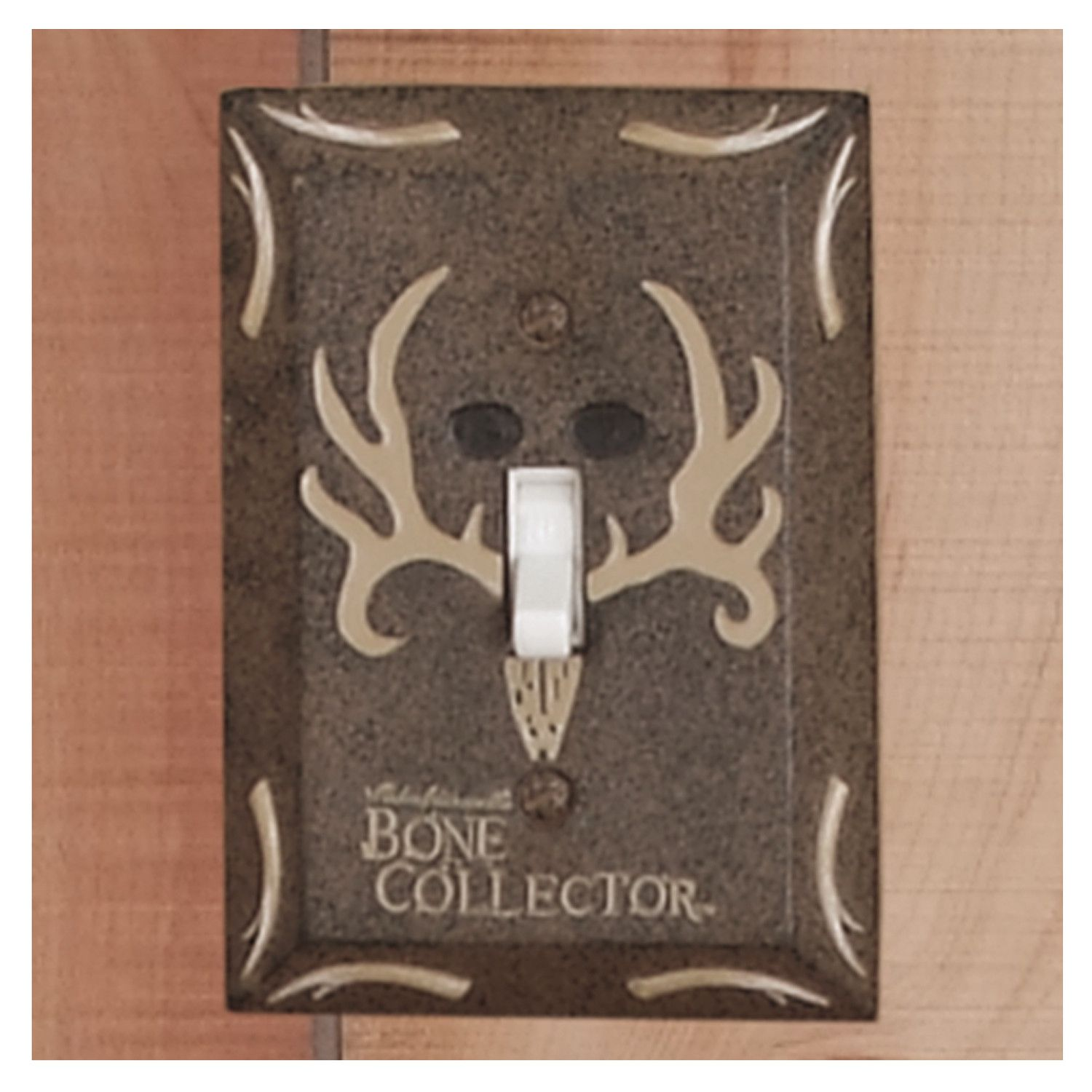 Bone Collector Bath Switchplate Single Switch Plate Covers