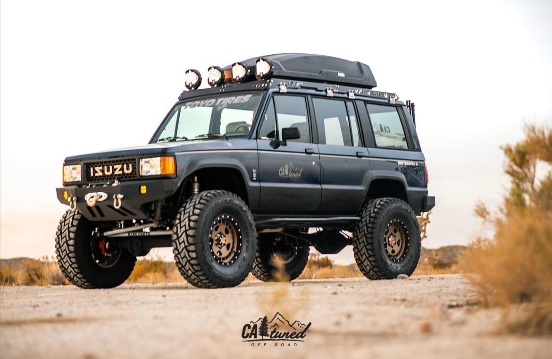 Project 1988 Isuzu Trooper Build Sema 2018 Catuned Off Road Trooper Overland Truck Small Electric Cars