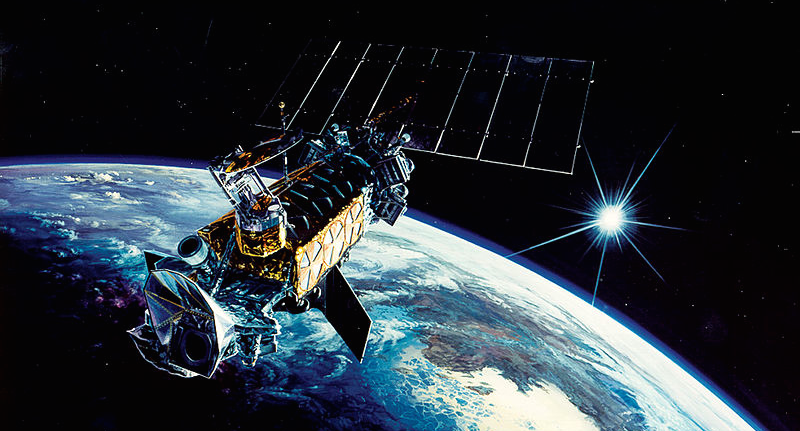 A Satellite Exploded In Orbit And No One S Quite Sure Why Yet Weather Satellite Military Satellite Space Warfare