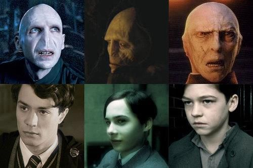 Voldemort In Different Periods Harry Potter Voldemort Harry Potter Bosewichte Voldemort