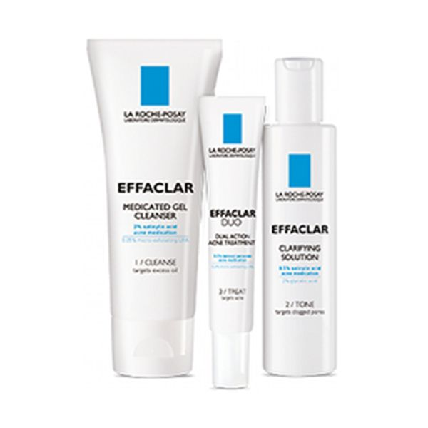 La Roche Posay Effaclar Dermatological Acne System Free Shipping Samples Skin Care Skin Cleanser Products Acne Treatment