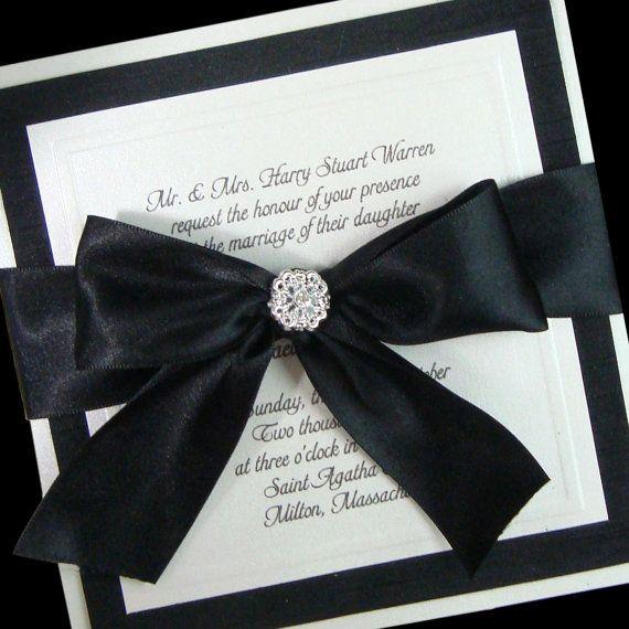 Pin By Pnina Tornai On Wedding Invitations Box Wedding Invitations Black And White Wedding Invitations Couture Wedding Invitations