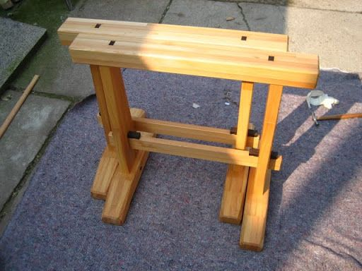 Japanese Sawhorse Woodworkers Institute Forums Shop