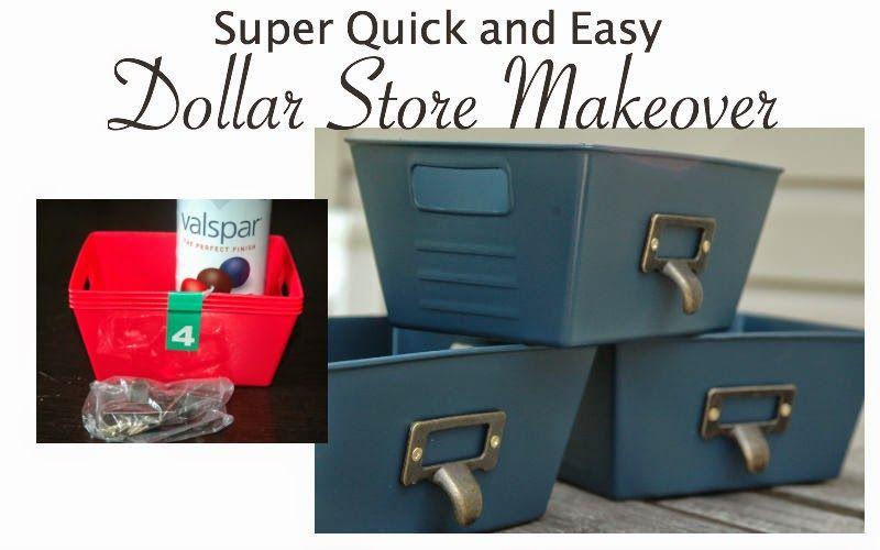 Dollar Store Storage Container Makeover Pinterest Storage