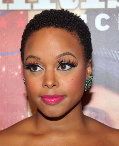 Pics Of First Big Chop Chrisette Michele After Her Big Chop In 2010 Black Hairstyles For Round Faces Short Afro Hairstyles Short Hair Styles For Round Faces