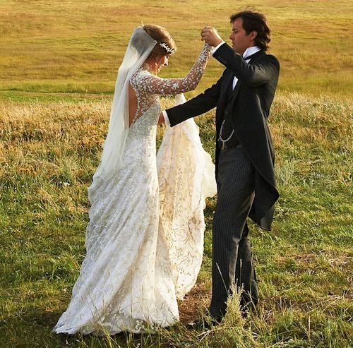 Lauren Bush At Her Boho Western Wedding Love How She Wore Veil Attached To Headpiece Over Hair