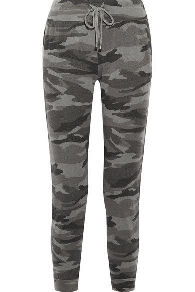 Sale Cost Camouflage-print Stretch-jersey Track Pants - Army green Splendid Order Sale Online Eastbay Cheap Online owu9UkIj3