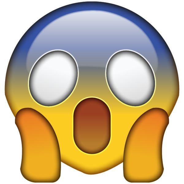 Omg Face Emoji Wtf Face Shocked Emoji Emoji Images