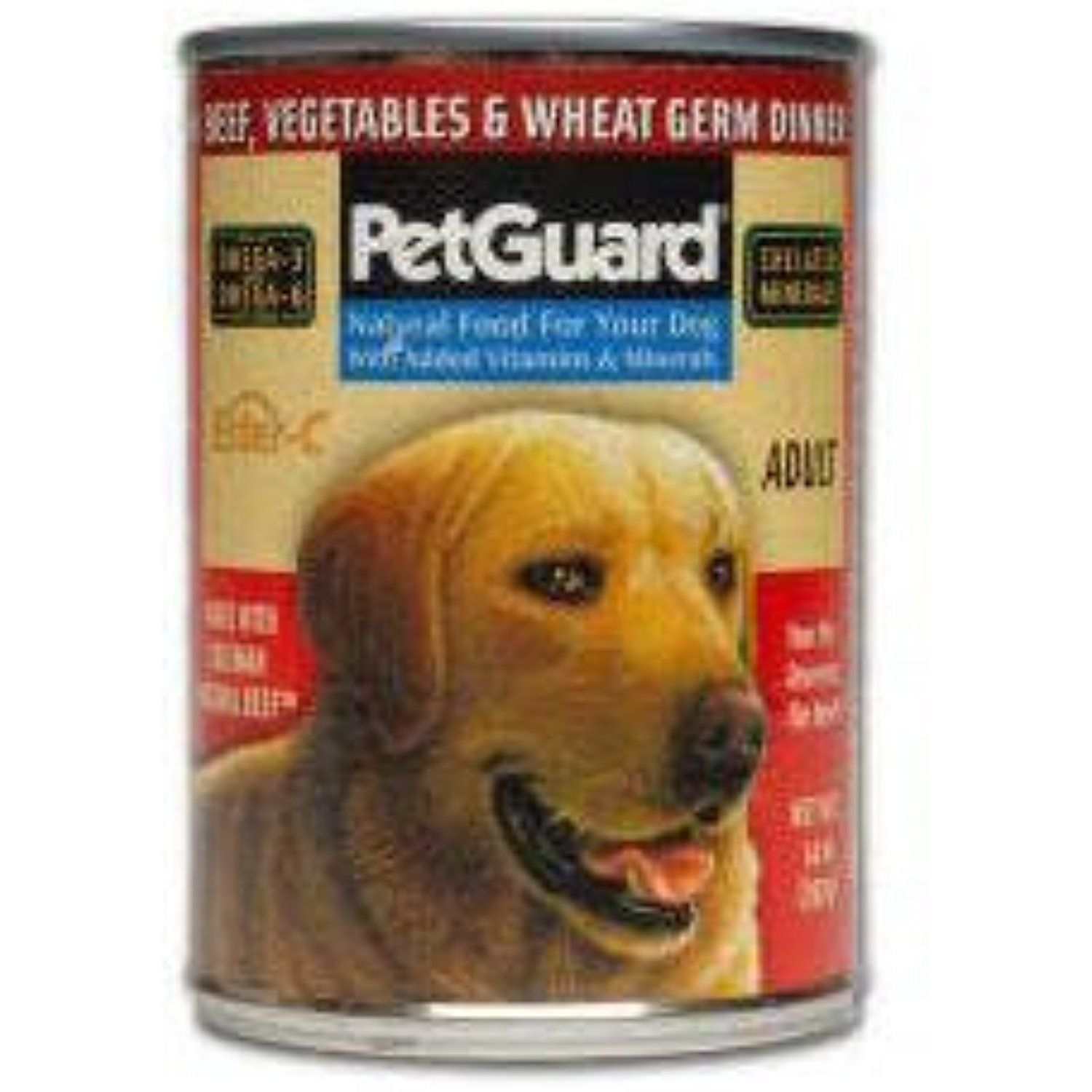 PetGuard Beef & Vegetable & Wheat Germ Dinner for Adult ...