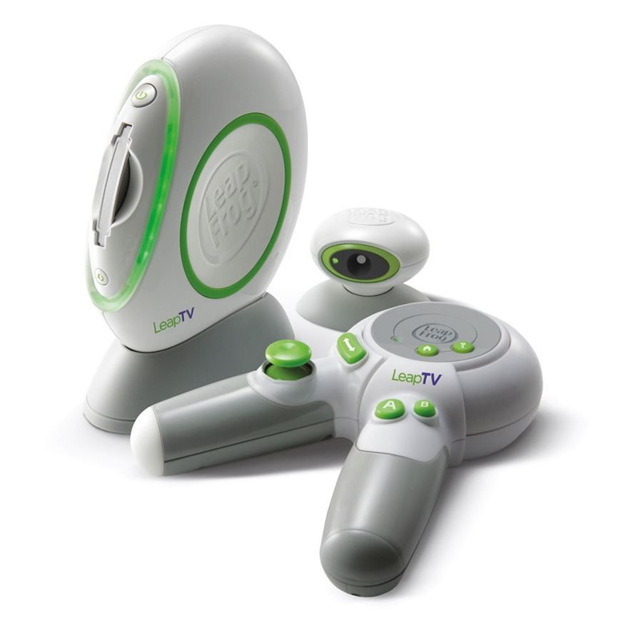 With The Leapfrog Leap Tv Educational Video Gaming System It