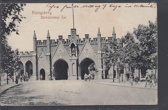 Steindammer Tor Kaliningrad Mit Bildern Preussen Westpreussen