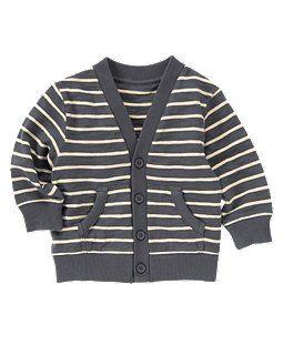 striped cardigan. Kids style.