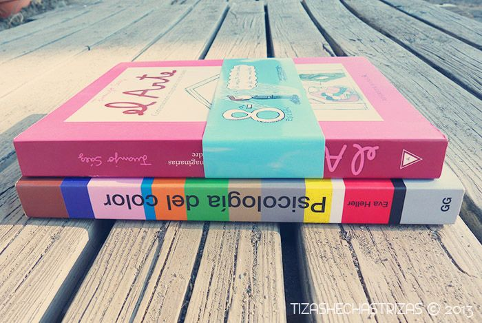"""Entre libros… """"Psicología del color"""" y """"El Arte. Conversaciones imaginarias con mi madre"""""""