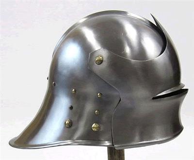 Medieval Knight Helmet German Sallet Knights Helmet Medieval Helmets Medieval Knight