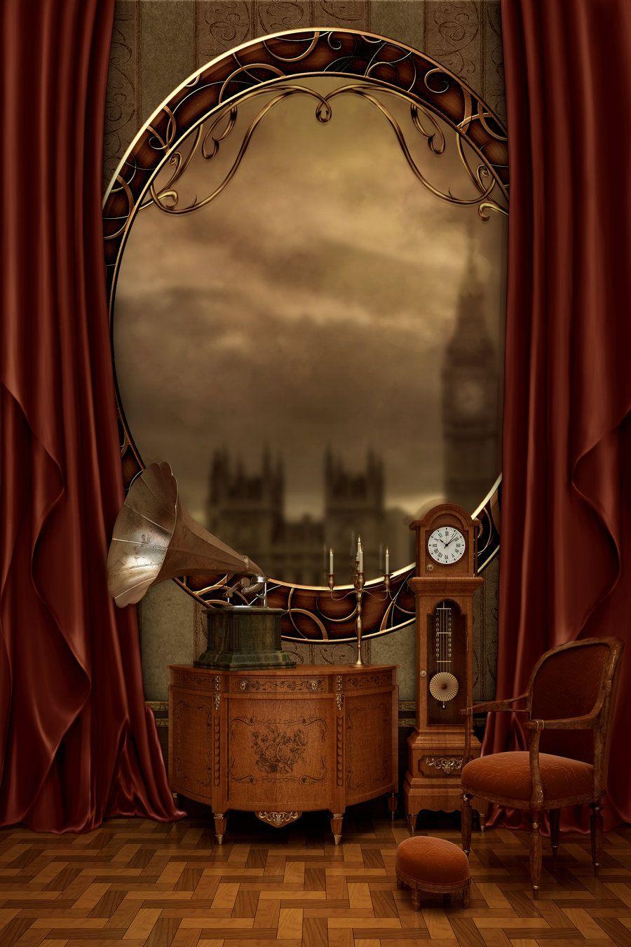 Interior : Fabulous Brown Steampunk Decor For Gorgeous ...