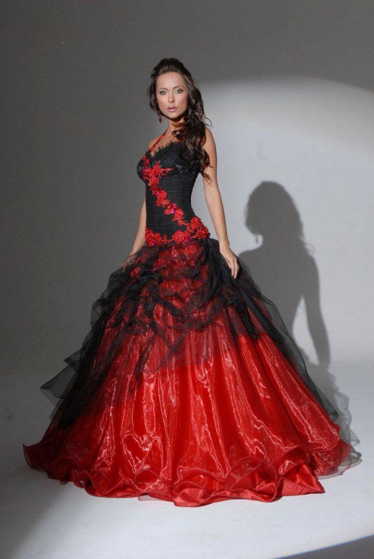 Rote Brautkleider: 19+ charmante Styles für schwerelos