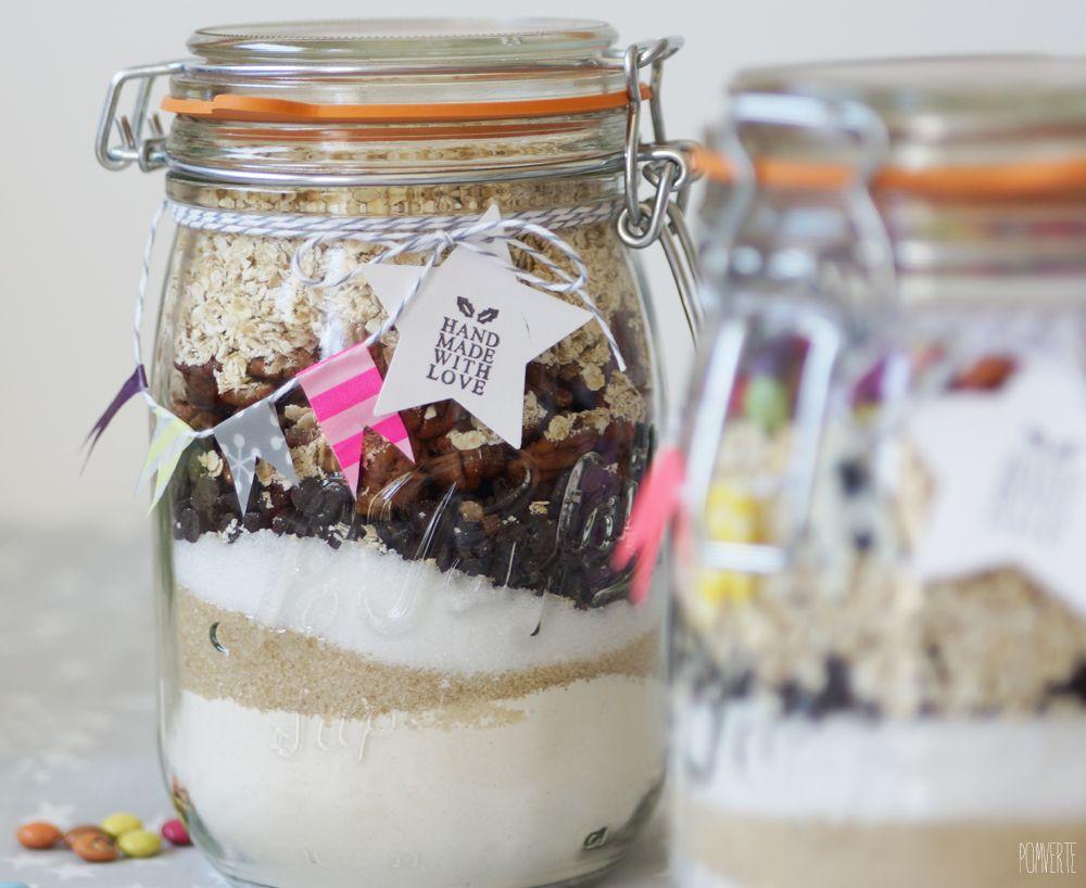 cookie jar kits g teaux en bocaux cookies et biscuits jar cookie et idee cadeau noel. Black Bedroom Furniture Sets. Home Design Ideas