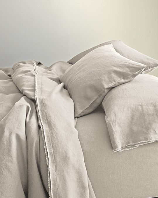 Eileen Fisher Washed Linen Collection In Pebble Color Would