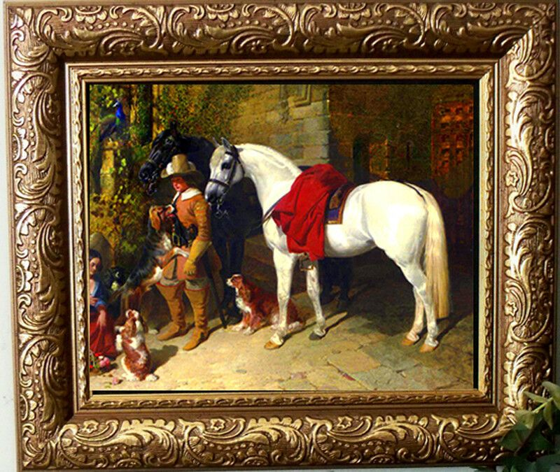 Details About Herring Le Baron Arabian Horse Pony Print Style