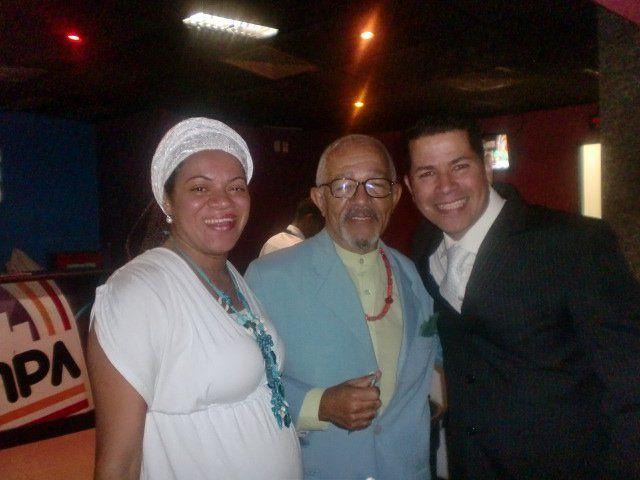 Flávia Pinto, Tata Ananguê e Marcelo Fritz no Prêmio Atabaque de Ouro/2011