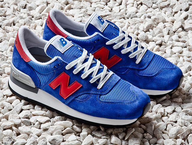 blue new balance 990