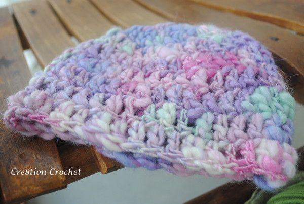 detail handspun yarn newborn beane free pattern free
