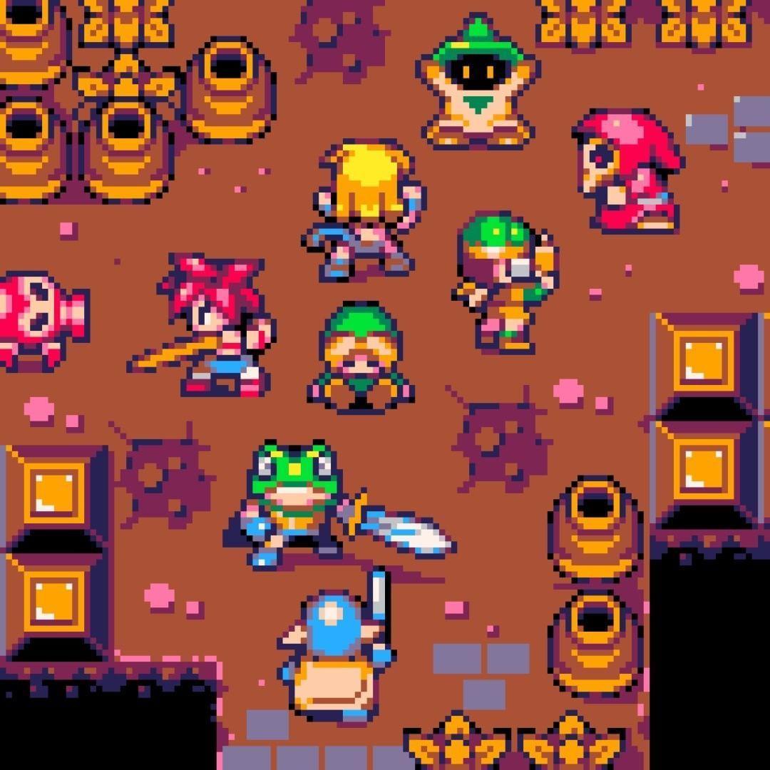 Chrono X Zelda! #pixel #pixelart #pixels #videogames