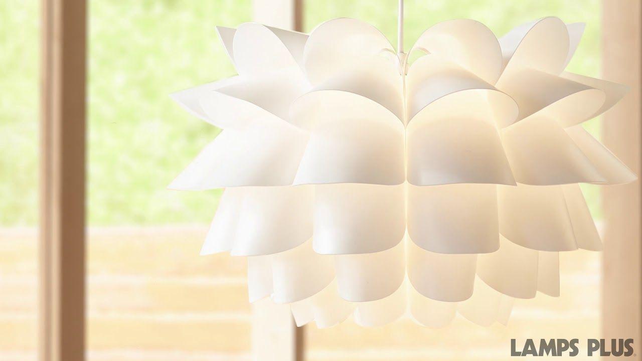 Possini Euro White Flower 19 12 Wide Pendant Chandelier Mw It