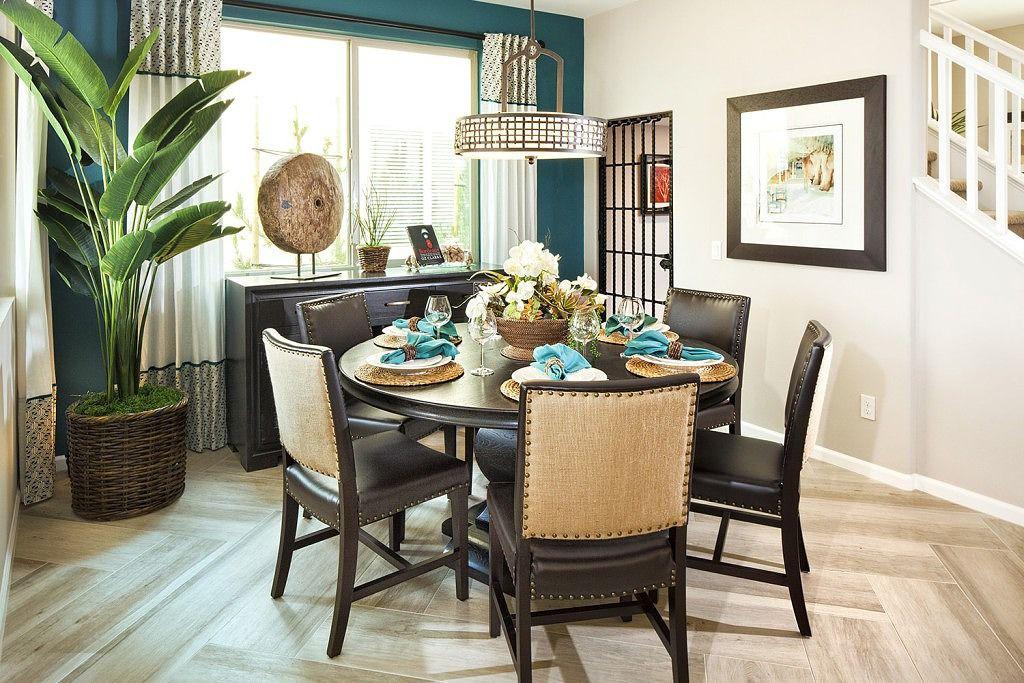 Dining Room At Skycrest Plan 2  New Homes At Inland Empire Custom Dining Room Empire Design Ideas